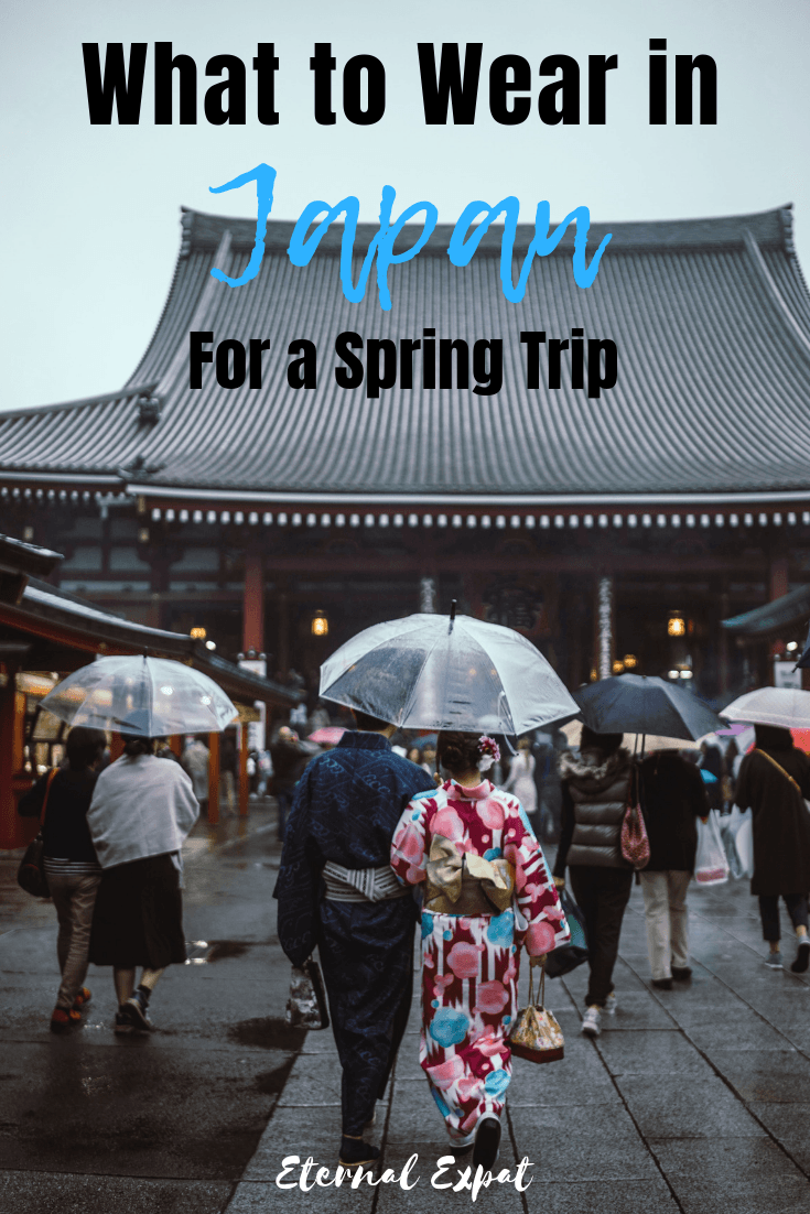 what to wear in japan in spring, a packing list for japan in spring, wondering what the weather will be like in japan in spring, let me help you pack!