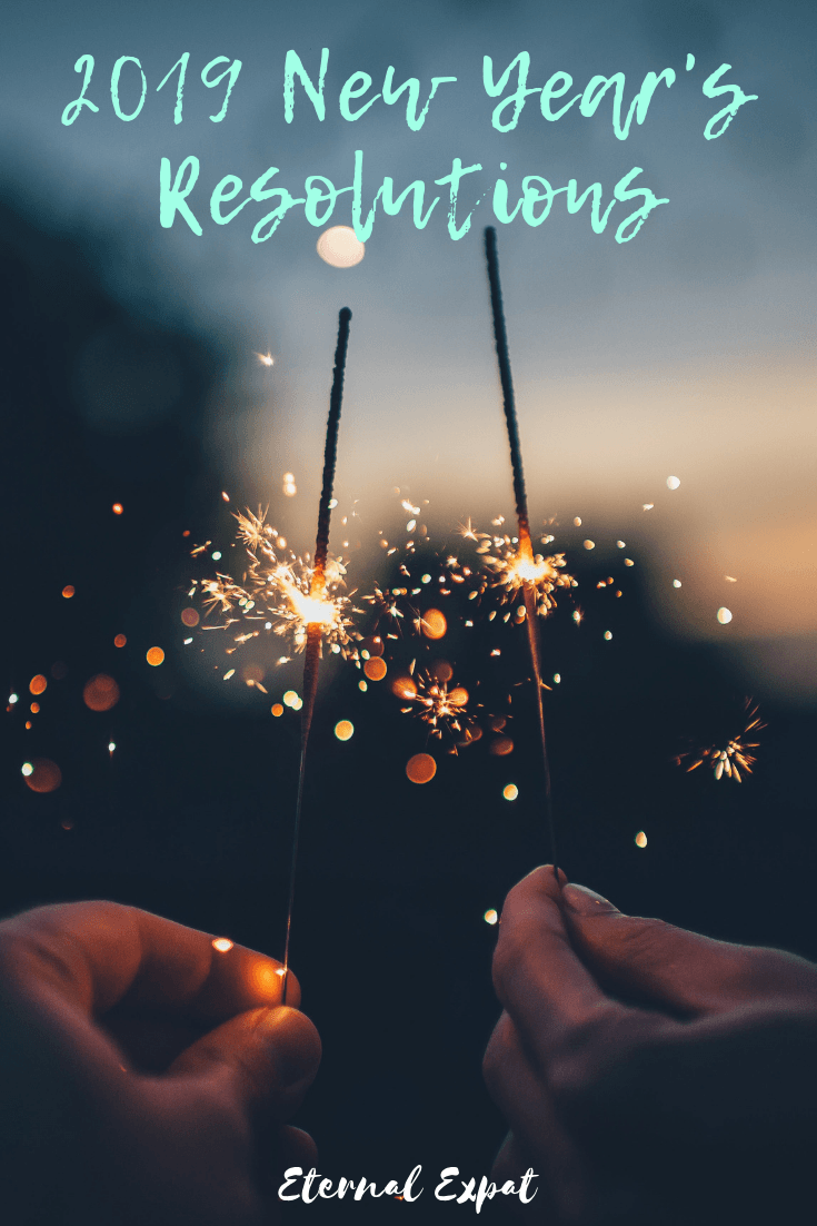 My 2019 New Year's Resolutions - these aren't just travel related, they are health related, business related, and mental health related! What are your resolutions for 2019?