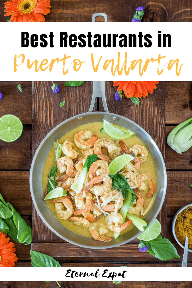 The best restaurants in puerto vallarta, all of the best places to eat when you visit Puerto Vallarta in Mexico! This is mostly the best seafood restaurants in Puerto Vallarta, but I also list some of my favorite tacos in Puerto Vallarta, too!