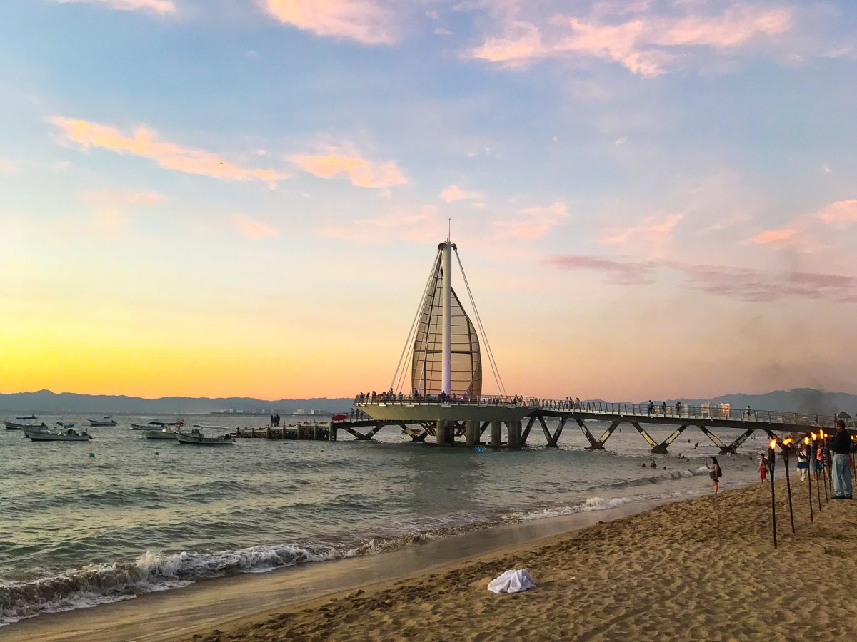 figuring out if puerto vallarta's beach is the safest city in mexico