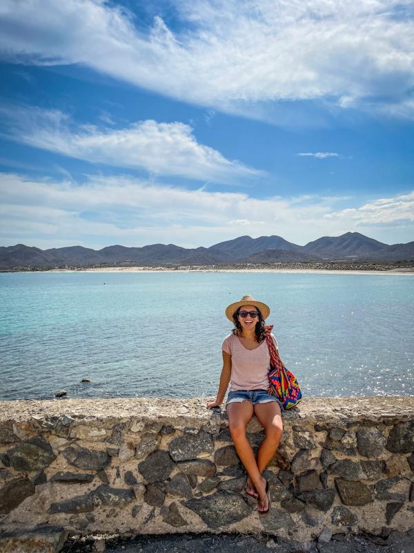 Baja california road trip stops in La Ventana Mexico