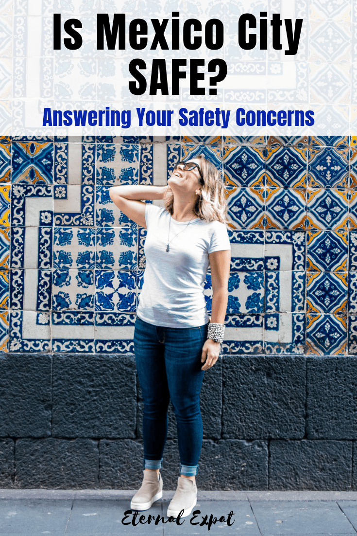 is mexico city safe? Wondering if it's safe to travel to Mexico City? What about as a woman traveling in Mexico City? I'm answering all of your questions about safety in Mexico City in this article!