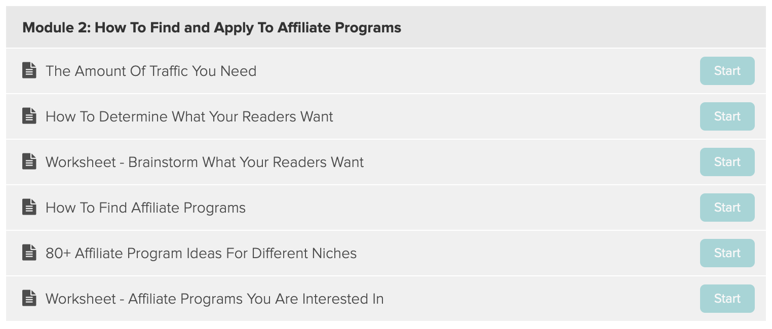 making sense of affiliate marketing curriculum