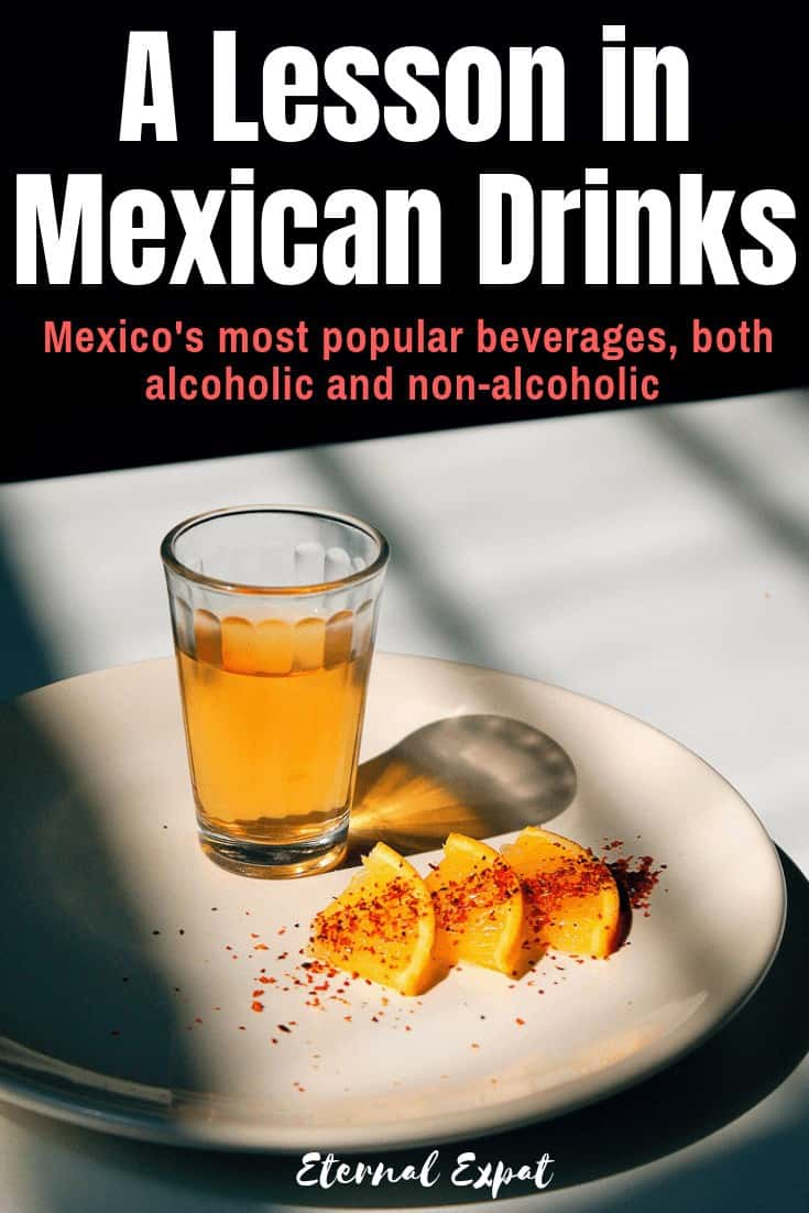 pinterest image of best drinks to have in mexico