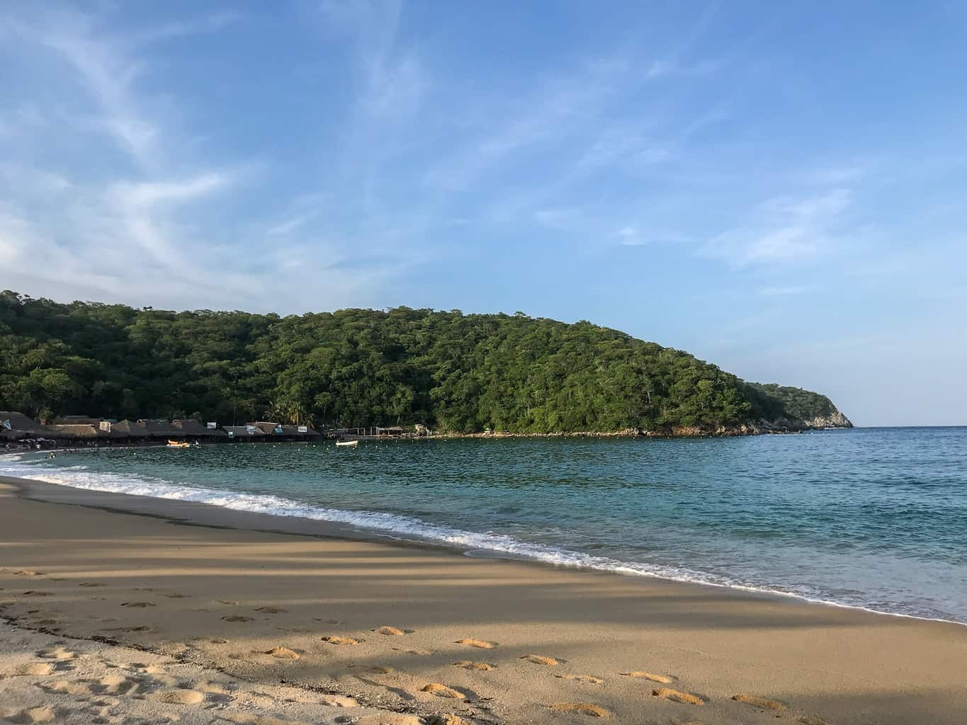 the beaches of Huatulco