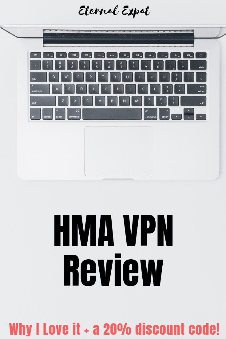 pinterest image for HMA VPN review