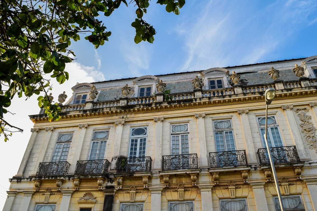 A parisian style mansion in Merida mexico