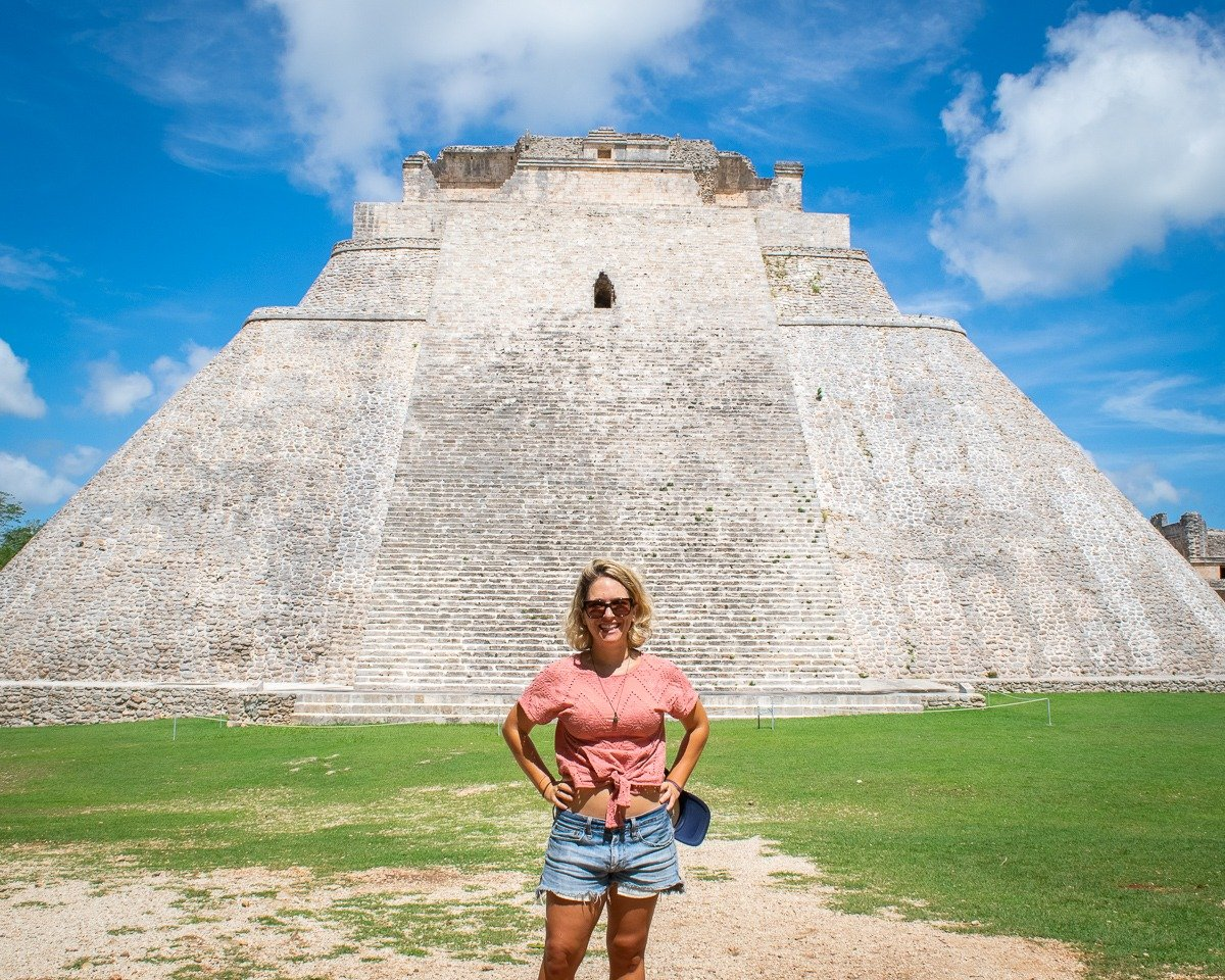 visiting uxmal ruins as a day trip from merida