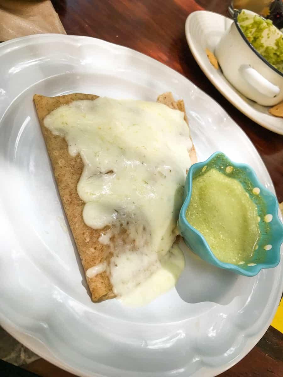 crepe from Cafe bossanova guanajuato
