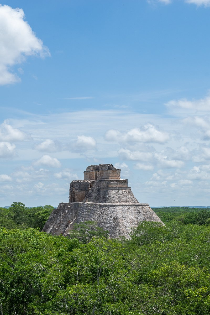 uxmal from a distance