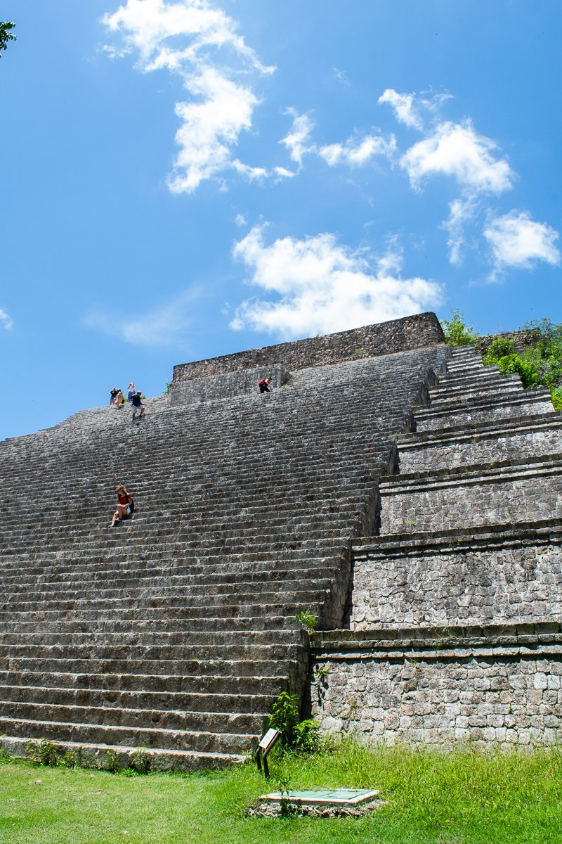 uxmal ruins that you can climb