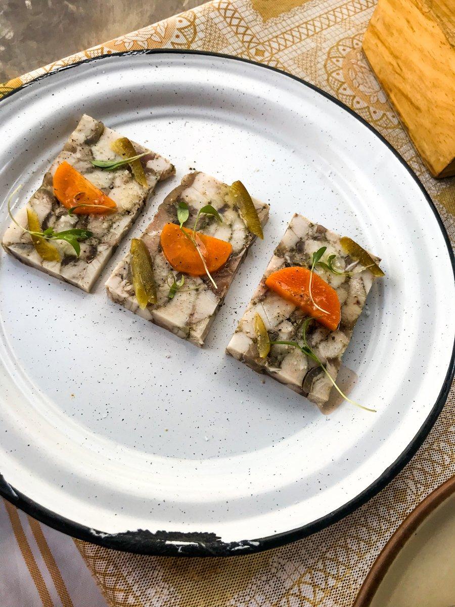 The amazing pork terrine from comedor jacinta