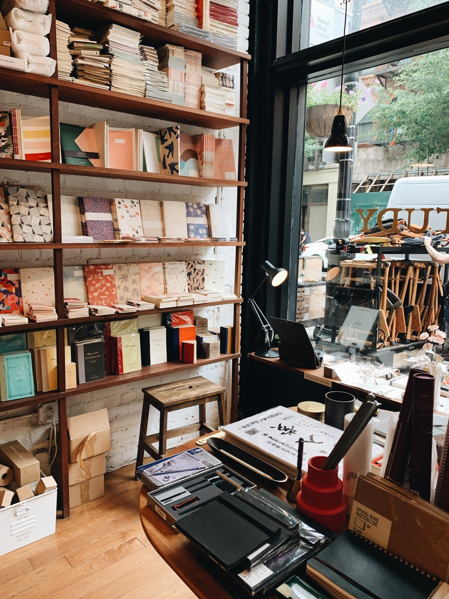 travelers journals can be picked up at any book store or stationery store