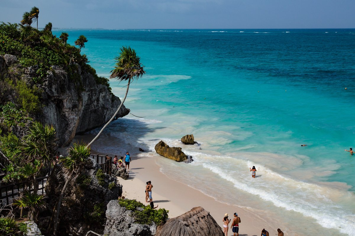 the best things to do in Tulum are to check out all of the different beaches