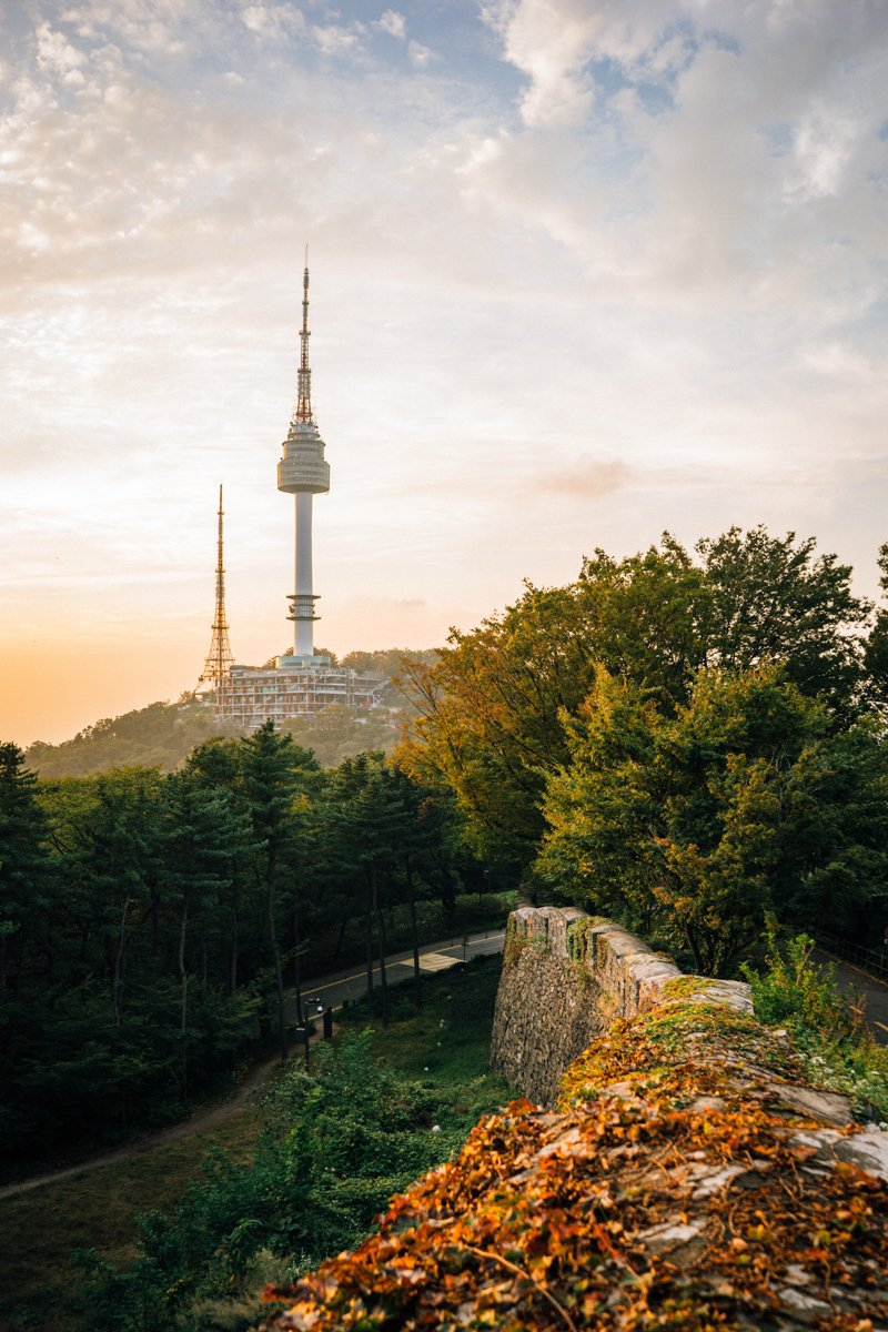 the best neighborhoods in seoul and where to stay in seoul korea to have these views of seoul tower