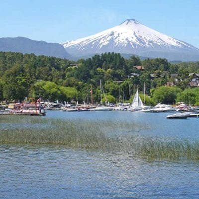 chile itinerary which includes lakes and mountains