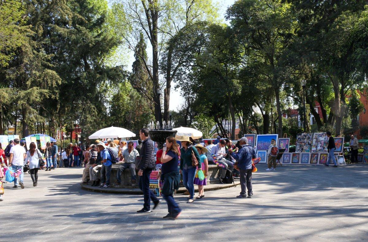 san angel market in mexico city