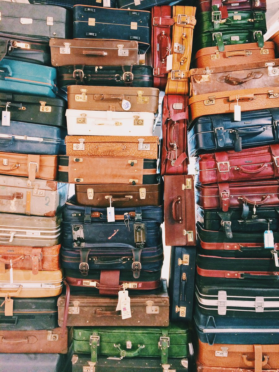 moving to a new country with all of your luggage and belongings isn't always the best idea