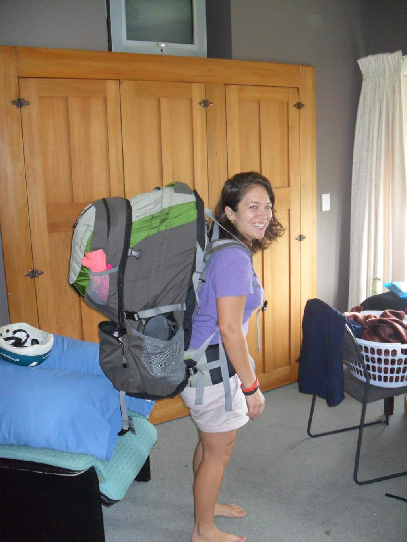 backpacker backpack