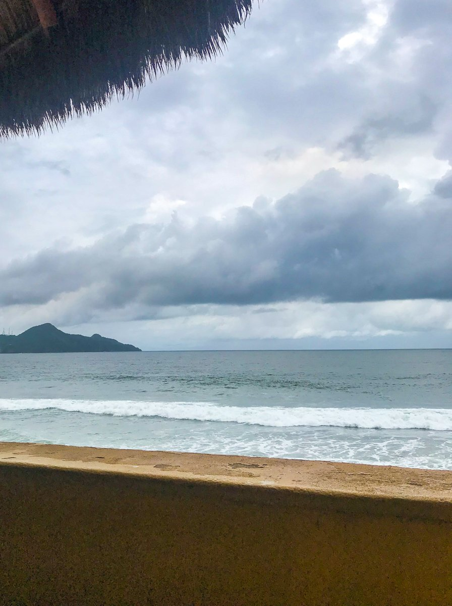 the view from doña concha restaurant in Manzanillo