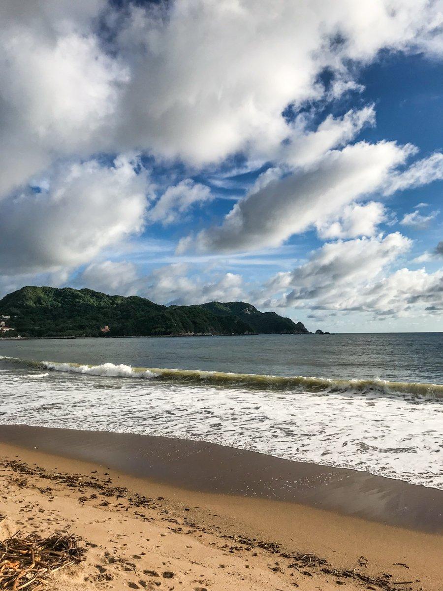 beach in barra de navidad jalisco