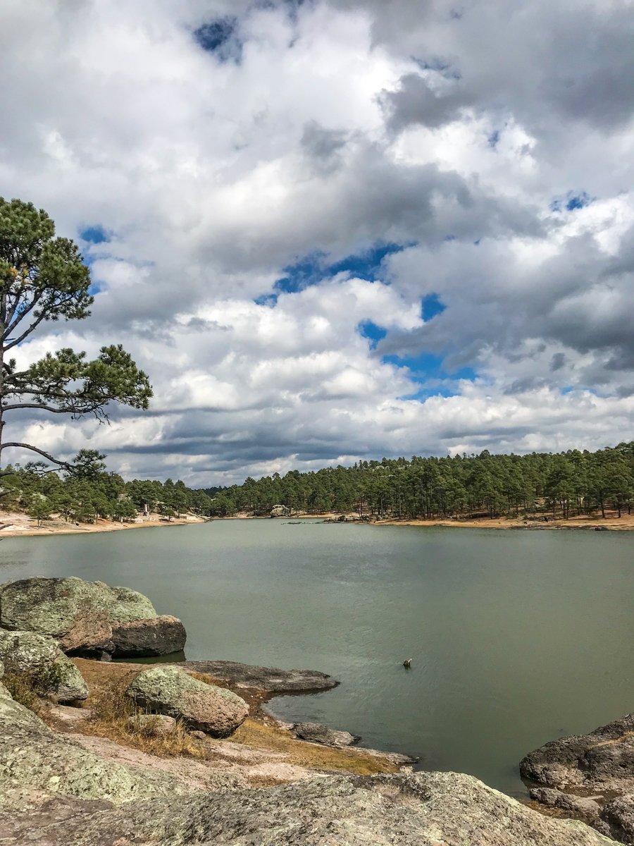 lake arereko in creel
