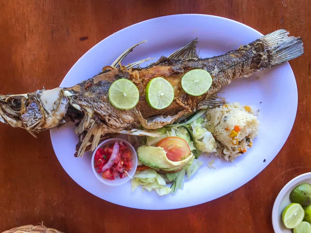 fried fish in mazatlan