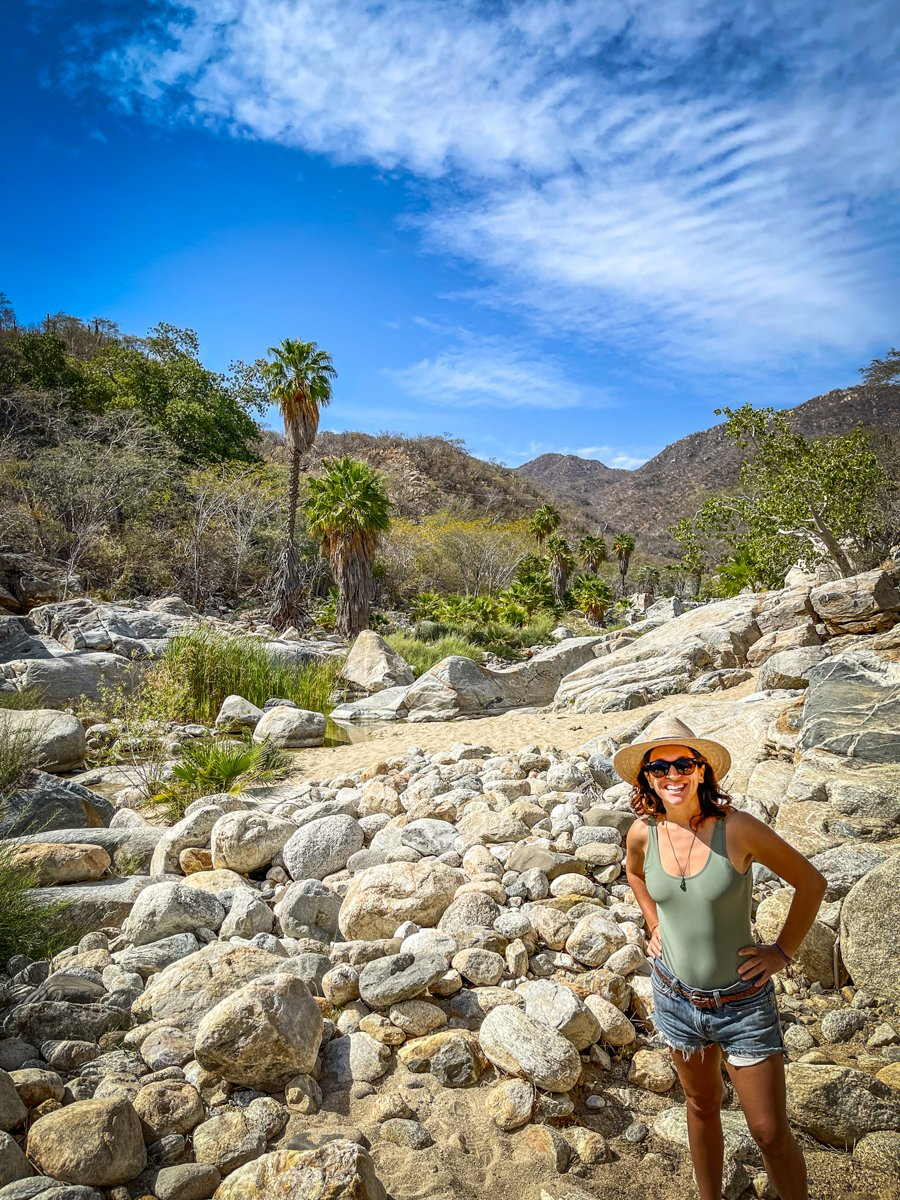 hiking in santiago, a day trip from San Jose del Cabo