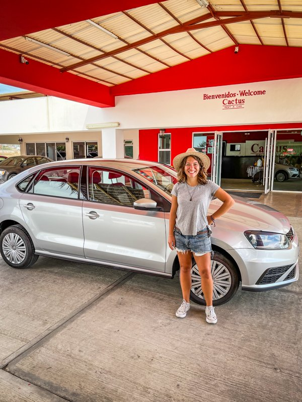 renting a car from cactus rent a car in cabo san lucas