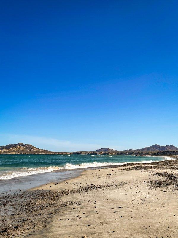Cabo pulmo beach in baja california sur