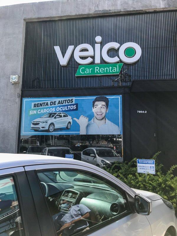 Veico car rental company in Guadalajara mexico
