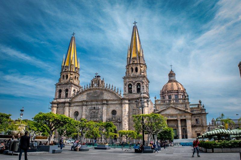 the cathedral of Guadalajara Mexico