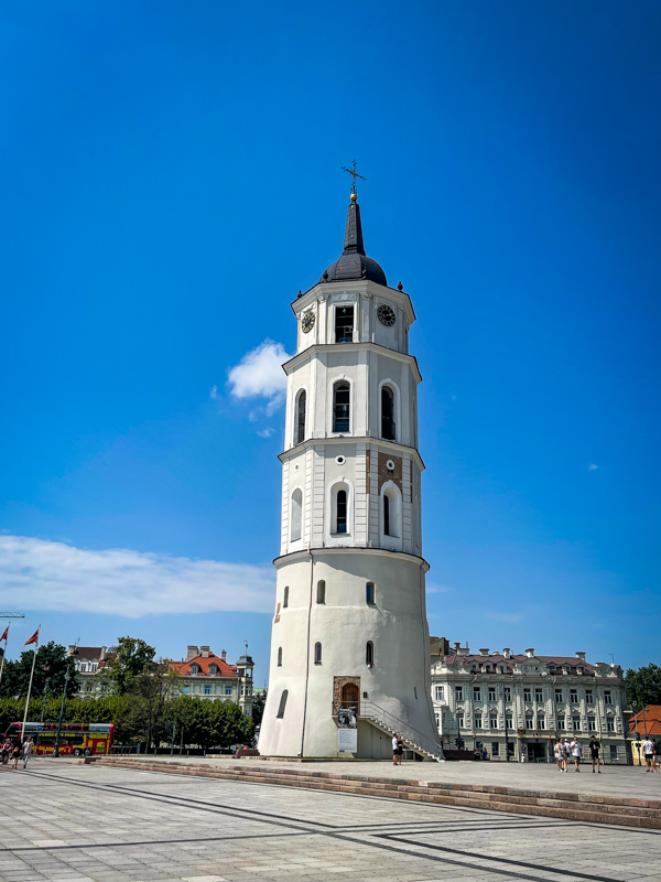 bell tower of vilnius cathedral