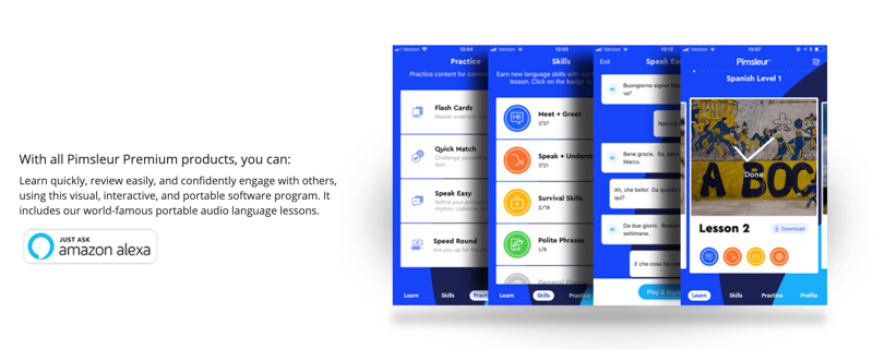 pimsleur review website for language learning