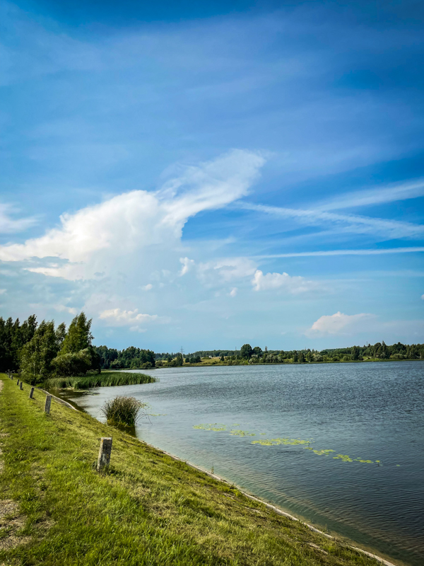 Lake in Lithuania